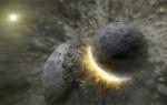 Столкновение планет в созвездии Овна
